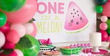 {Party} ONE in a melon / My sweet Grace is ONE in a melon!