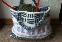 Crochet and Knitted Bags and Totes