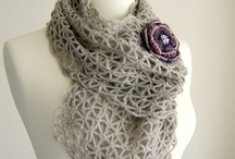 Crochet Scarves, Shawls and Ponchos