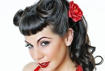 Loving the 40's and 50's rockabilly style!! / Clothes, hair, makeup, awesomeness!!