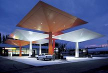 Petrol Forecourts Research / Research of Petrol Station Forecourts for Architecture
