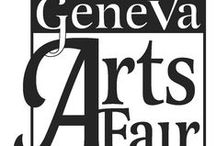 """Geneva Arts Fair / Held the last full weekend in July.  The unprecedented Geneva Arts Fair transforms downtown Geneva into a venue for over 150 esteemed artists and draws a crowd of more than 20,000. The juried show was voted a Top 200 Fine Craft Fair by Art Fair SourceBook and a previous winner of  """"Best Craft or Art Show"""" by West Suburban Living magazine.  Admission is free and includes a children's art area with special activities."""