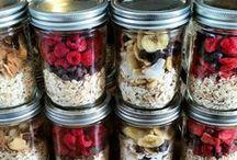 Domáca granola / všetko z ovsených vločiek - tyčinky a rôzne pochúťky