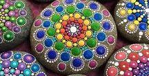 Maľovane kamene / inšpirácia a potešenie pre oči a dušu