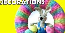 Crochet Easter Decorations