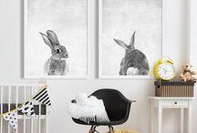 Nursery Decor / Inspirational interiors for the perfect childrens nursery.
