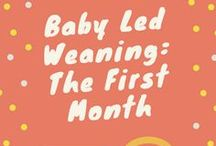 Weaning Recipes & Tips / Baby led and traditional weaning recipes and useful tips.