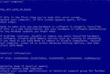 BSOD / Blue Screen Of Death