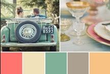 Paletas de color para bodas