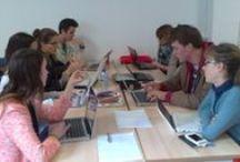 Coworking / 10 personnes qui ne se connaissaient pas ont formé une équipe réunie autours d'un projet le temps d'une semaine.