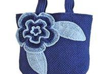 Szydełkowe torebki/Crochet bag / Inspiracje i schematy szydełkowych torebek
