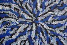 COLORAMA - BLUE / Sélection d'oeuvres aborigènes et australiennes contemporaines autour du bleu.