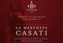 2014/2015 Festivities / Celebrate the festivities at THE BAUERs in Venice at the De Pisis Gourmet Restaurant