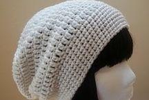 Czapki / Wzory, schematy i inspiracje na szydełkowe czapki