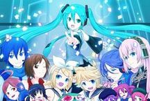 Vocaloid / Hatsune Miku, Megurine Luka, Kagamine Rin, Kagamine Len, Shion Kaito, Gakupo, Meiku, IA and other~