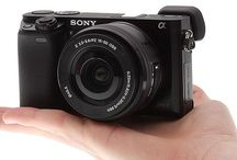 Sony A6000 / Sony A6000 photography compact mirrorless camera black photographer photos pictures