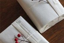 Gifts & Packaging / #wrapping #gifts #design #brands