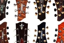 Gorgeous Headstocks / Perhaps my favorite guitar part: The most beautiful headstocks from around the world. (Sometimes violins and other headstocks also sneak in...)