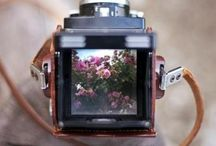 Leather Camera Goodness / Leather bags, straps, cases, and more for cameras! All beautiful of course!