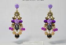 Pendientes de Flamenca y Fiesta con piedras / Pendientes Joya ideales para tu traje de Flamenca o Fiesta.