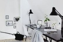 Get Work Done | Office Spaces + Motivation / Stay organized, get motivated, work hard, enjoy life