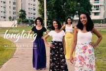 {coleção} long long / Todo mundo pediu, a gente fez: Saias Longas com cores lindocas para você se apaixonar! Vem conferir tudo: http://loja.weloveskirts.com/