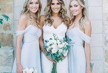 Подруги невесты / Подруги Невесты - платья и образы, которые не оставят ваших подруг равнодушными. Bridesmaids - Styles that will leave your girls loving their look.