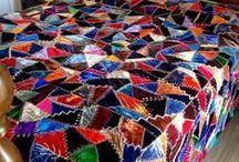 Antique Crazy Quilts / Antique crazy quilts and blocks