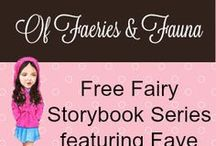 Fairy Story Series Featuring Faye / Monthly Printable of a Fairy door and a free corresponding e-book of a children' story. Printable, children's art, books worth reading, free stories, fairy stories, fun stories, children adventure stories.