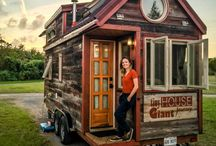 Family Tiny Homes and Intentional Living / Choosing as a family to down size.  Live intentionally.  Valuing time, relationships and experience over things