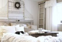 Decor: BEDROOMS to dream about / by Donna - Funky Junk Interiors