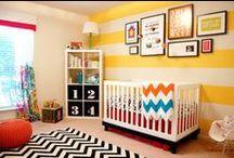 Fabulous Kid Rooms + Nurseries / by Timeesha Duncan Media