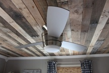 Decor: CEILING treatments / by Donna - Funky Junk Interiors