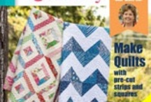Quilting / Patterns and fabrics to make beautiful designs for quilts