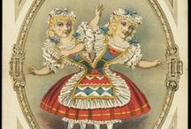 Carnivale / Carnivals, circuses. sideshows, vaudeville and travelling entertainments~  / by Rebekah  Wrye Owens
