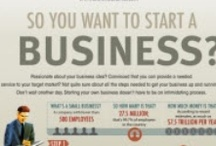 Getting A Business Started / People think it's so easy to start a business.  You get an idea, you apply for a loan, you open the door and then sit back and watch the money roll in.   They couldn't be more wrong!   Starting a business is a process.  You need a mentor.  You need cash.  You need to read.  And you need to learn which foot to put forward first.  Hopefully some of these tips will help you somewhere in your journey.