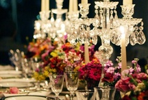 TABLE & CANDLE DECORATIONS / by Rozanne Louw