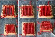 Weavette Frame Pin Loom Weaving / by Andrea Mielke Schroer