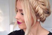 wonderful hair / i wish i was blonde / by anna regazzetti
