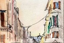 Sketching Rome Tours / Take a 3-hour sketchbook journaling workshop in Rome.  No experience necessary! www.sketchingrometours.com
