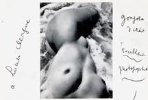 sketchbook / sketches, color studies, letters, collages, material explorations...