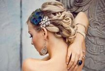 wedding´s hairstyle / by Anahi Flores Tapia