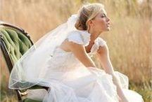wedding dresses & wedding ideas / by Maria Kloczko