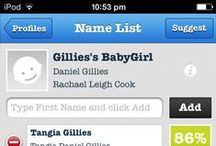 NameMyWorld - Baby Name Suggestions - Daniel J Gillies and Rachael Leigh Cook's Baby Girl / This is a board of Baby Name Suggestions for Daniel J Gillies and Rachael Leigh Cook's Baby Girl