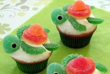 Awesome Cupcakes / Very cute cupcakes. Perfect for kid's parties. Easy to decorate or assemble. Fun activity for kids.