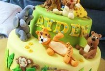 """Awesome Cake Designs / And you thought you were just """"playing"""" with Play Dough when you were really practising to be the world's best cake decorator. Look at these awesome cakes! A lot of the decorations were made from fondant which feels just like Play Dough or plasticine."""