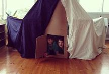Awesome Forts / Forts. Part of every person's childhood. Whether made of sheets, cardboard, wood, or sticks, forts are a place we can go to transport our minds to wherever we want to go. You can play, dream, relax, or create in a fort. Everything is better in a fort!