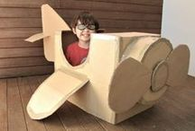 Awesome Cardboard Crafts / So many awesome stuff you can make from cardboard!