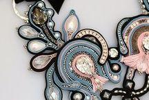 soutache jewelry / unique soutache jewelry that you like me