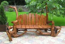 Willow, Wicker, Wood / Unique handcrafted and up cycled chairs, benches and stools. LIMIT 10 PINS DAILY / by 🐾 KRYSTYNA 🐾